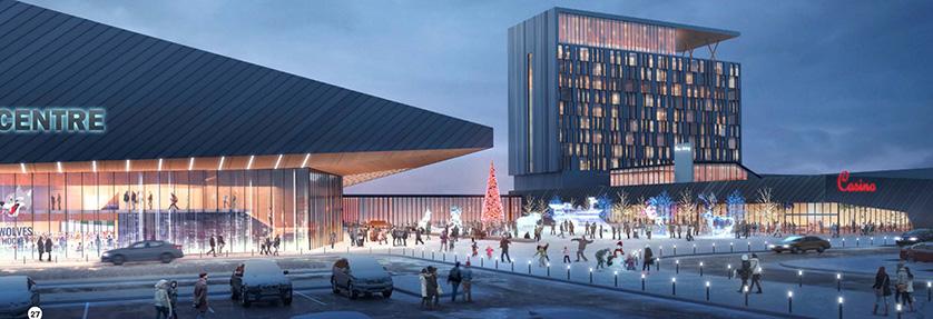 L 39 ar na centre d 39 v nements for Design hotels arena